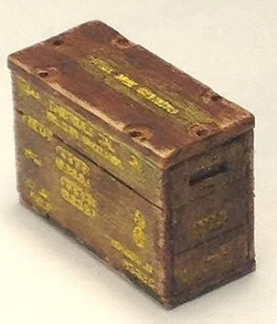 1/35 accesorios caja de municiones WW2 estadounidense M4 Sherman establecer: Amazon.es: Juguetes y juegos