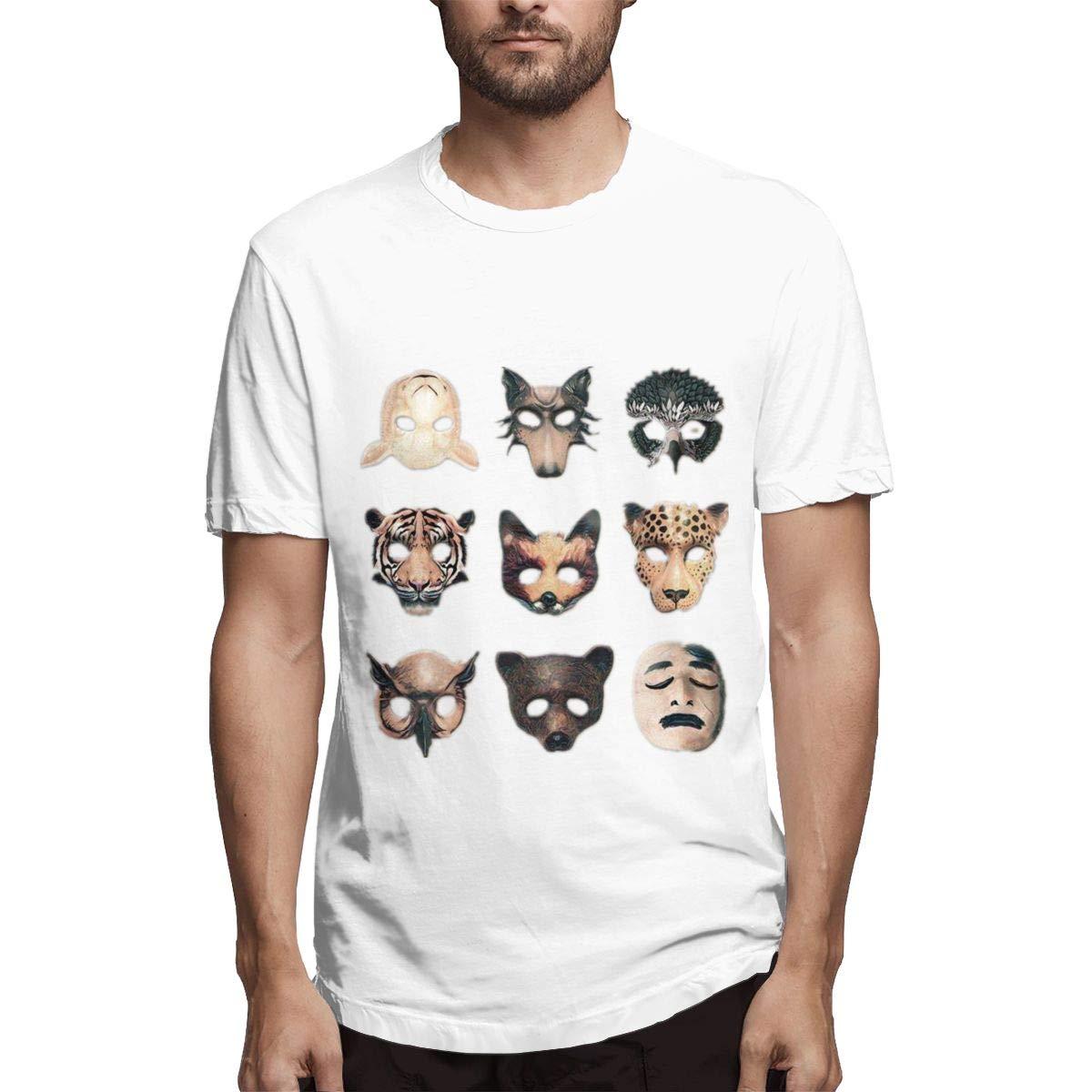 Lihehen Badflower Fashion Leisure Round Neck Tees Shirts
