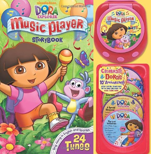 Dora Music Player 10th Anniversary Edition (Music Player Storybook) Toy Story 10th Anniversary Edition