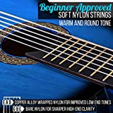 """Beginner 36"""" Classical Acoustic Guitar - 3/4"""