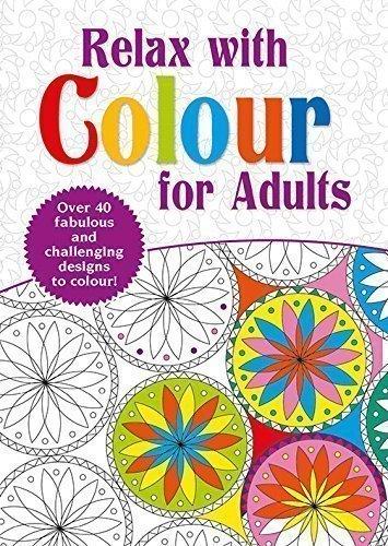 Adulti Da colorare Libro - Rilassarsi con Colore