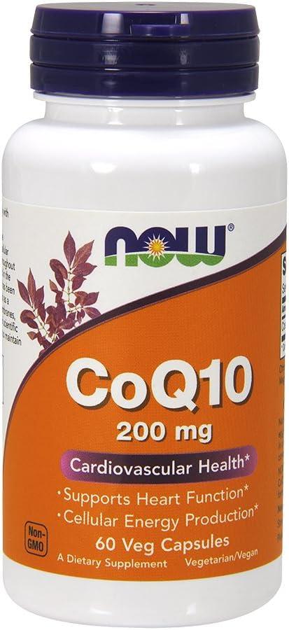 CoQ10 200mg 60 VegiCaps (Pack of 2)