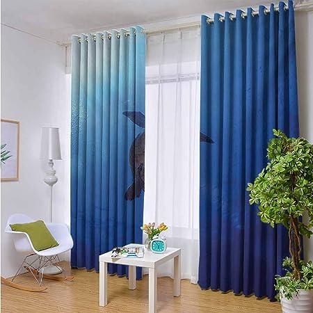 Cortinas para puerta corredera de patio – Cortinas opacas anchas, mantiene el calor de la sala de