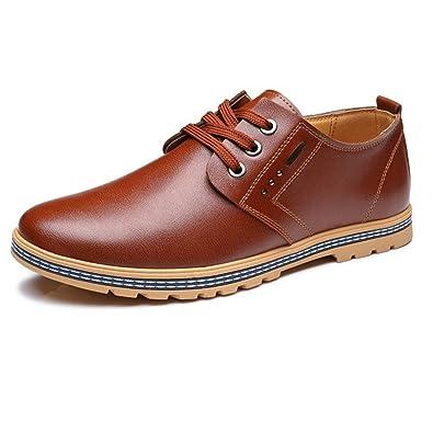 Bas Easy Homme Chaussures Lacets Haut Feidaeu Rundzehen Confortable hsrdtQC