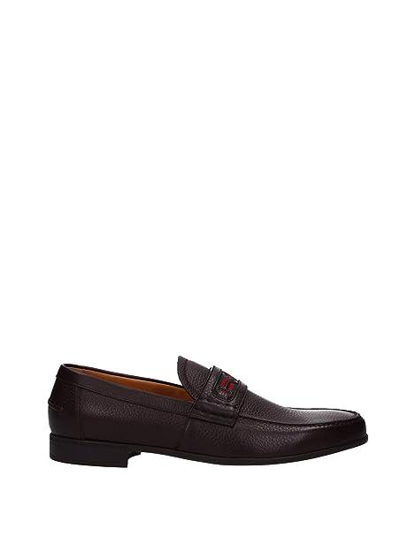 Gucci - Mocasines para hombre, color, talla 7 UK: Amazon.es: Zapatos y complementos