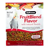 ZuPreem ZP82020 Fruit Blend Diet for Medium Birds, 2-Pound