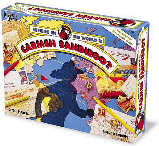 Where in the World is Carmen Sandiego by University -