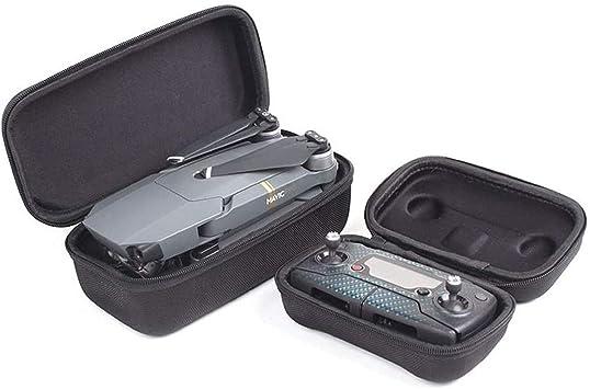 Opinión sobre Flycoo Concha Dura Bolso Bolsa Saco Cremallera Bag para dji Mavic Pro Drone Zumbido y Control Remoto , Paquete de 2
