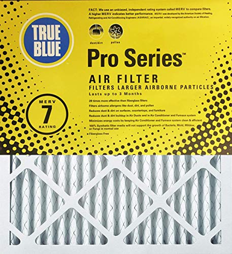 True Blue Pro Series 20x25x2 Air Filter, 6-Pack (Renewed) ()