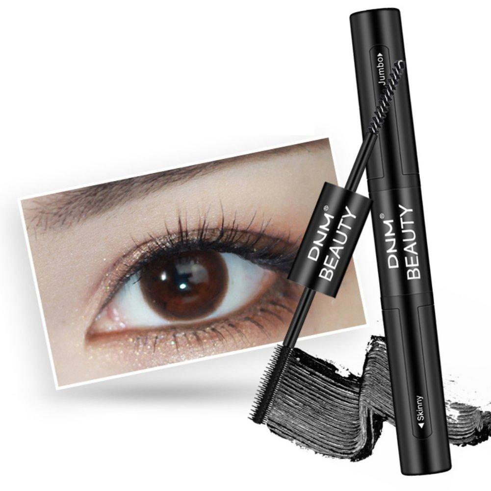 Moresave Double Head Brush Schwarz Mascara Eyelashes Thick