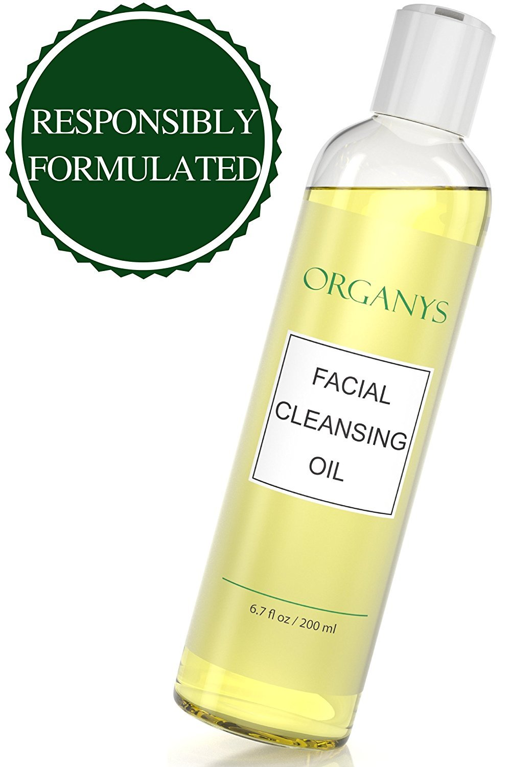 Organys Deep Cleansing Oil & Makeup Remover (Compare To DHC) Best Natural Gentle Daily Face Wash Cleanser Reduces The Look Of Pores Acne Blackheads Breakouts For Sensitive Oily Dry Combination Skin