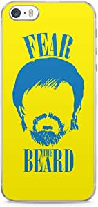 Manny Pacquiao iPhone 5s Tranparent Edge Case - Fear the Beard