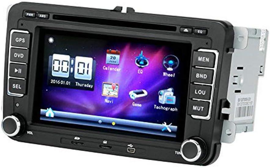 BW 2 DIN coche reproductor de DVD – 7 pulgadas de pantalla ...
