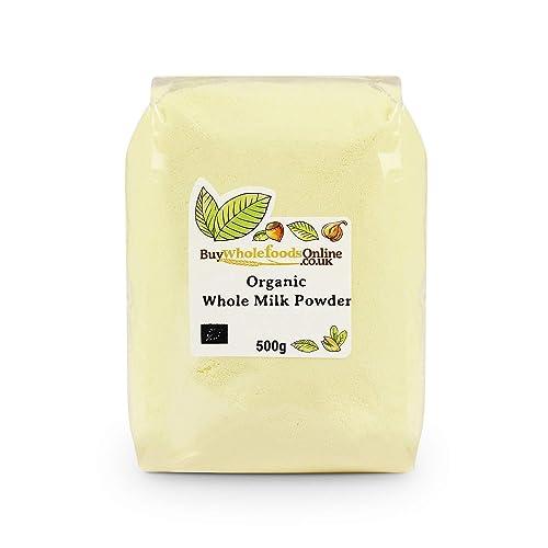 Organic Whole Milk Powder 500g