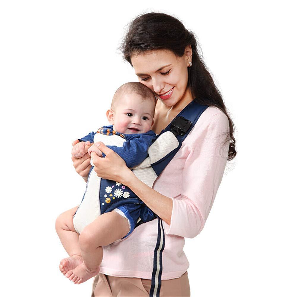 FIFY Babytrage Multifunktionale Babytrage/Babytrage / Tasche/Schlinge A02 Blau Code, E