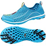 ALEADER Women's Mesh Slip On Water Shoes Blue 8.5 D(M) US