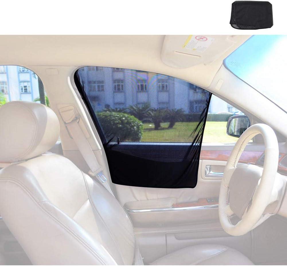 Auto Sonnenschutz Sonnenschutz Isolierung Seitenvorhang Fahrerseite Sonnenschutz Automatische Magnet Adsorption 2 Stück Sport Freizeit