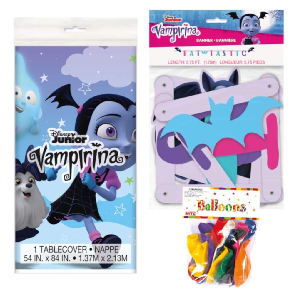 Amazon.com: Decoraciones de fiesta temáticas de vampirina ...