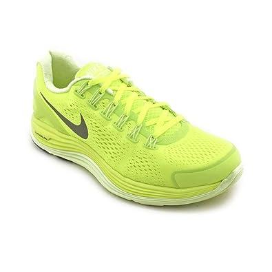 wholesale dealer f1fd8 f2a06 Nike Lunarglide+ 4 Mens Running Shoes 524977-707 Volt 10.5 M US
