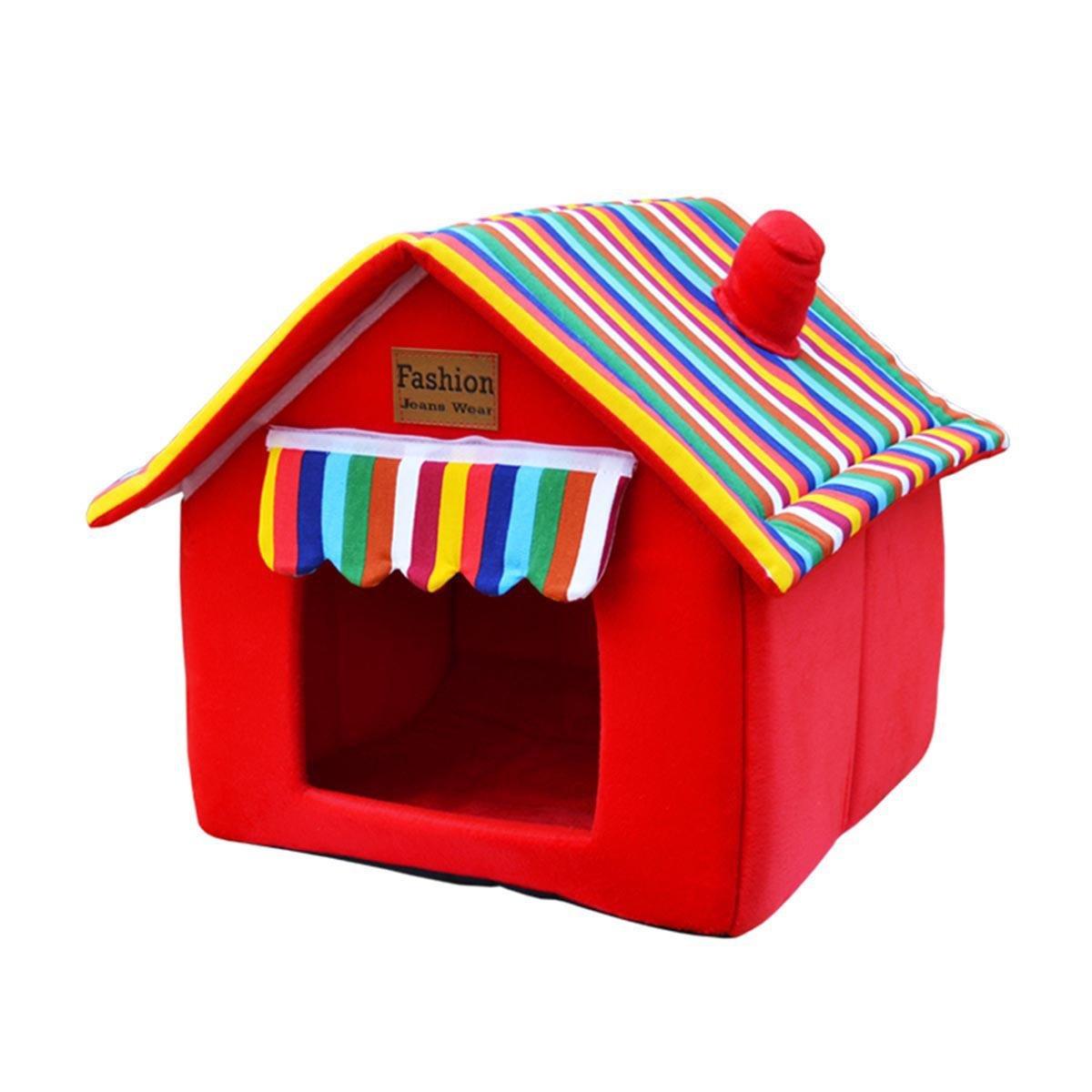 Pet Pet Pet Waterloo Nido di gatto Nido di cuccioli Lavabile estate quattro stagioni Teddy Cani di piccola taglia Casa del cane canile Forniture per cani , 001 , XL 6252c8