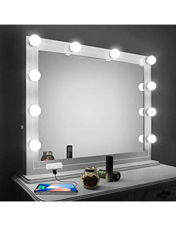 Bathroom Vanity Lighting Rustic Vanity Mirror Lights Kitled Lights For Mirror With Dimmer And Usb Phone Charger Amazoncom Vanity Lighting Fixtures Amazoncom Kitchen Bath Fixtures