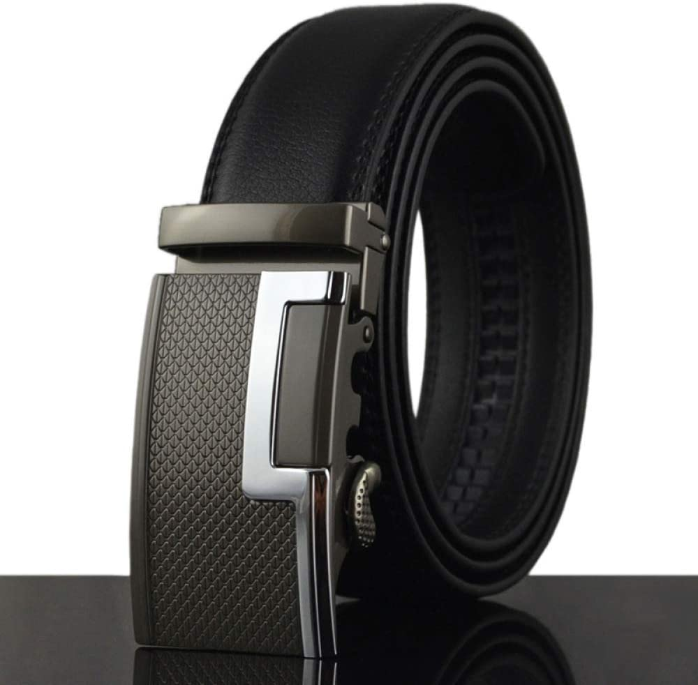 100-135Cm Belt Men Belt Leather Belt With Two Layers Of Cowhide Automatically Leather Length