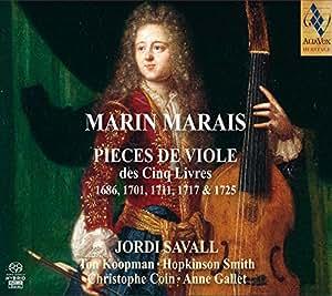 Marais: Pièces De Viole ; Koopman, Smith, Coin, Gallet, Savall