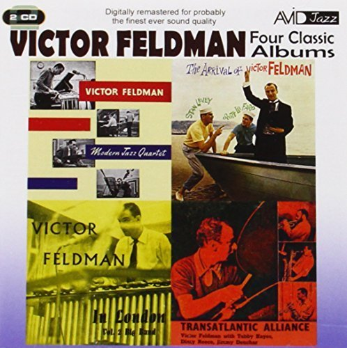 4 Classic Albums - Victor Feldman Transatlantic Alliance / Modern Jazz Quartet 2 by Avid Records (2011-10-25)
