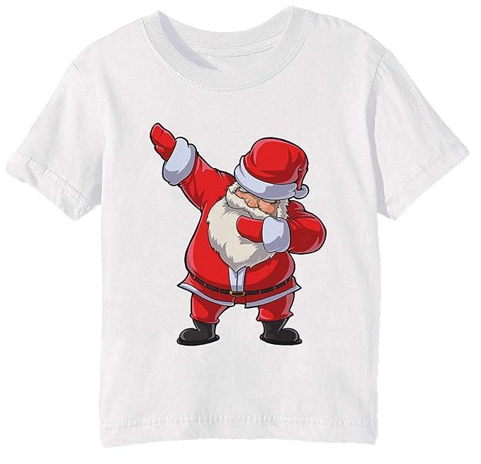 Taponando Papá T Camisa Noel Navidad Gracioso Lenguado Navidad Regalos Niños Unisexo Niño Niña Camiseta Cuello Redondo Blanco Manga Corta Todos Los Tamaños ...
