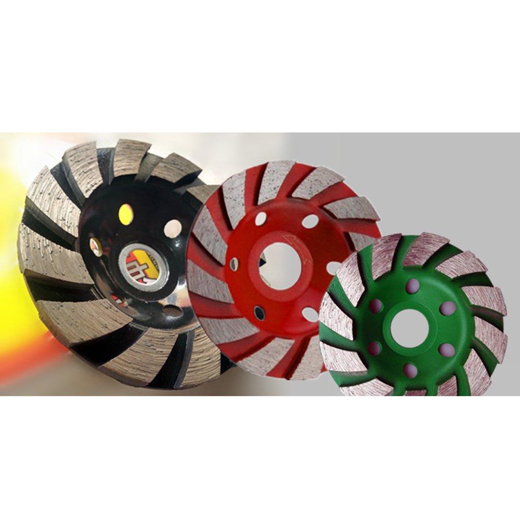 Black 100mm Sharplace Diamond Grinding Wheel Concrete Cup Disc Concrete Stone Concrete Masonry Tool 100mm