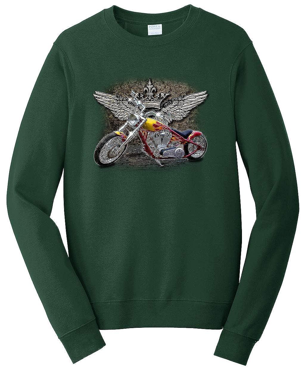 Tenacitee Unisex Crown Glory Chopper Sweatshirt