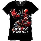 Deadpool - Bite Me! Men T-shirt - Black