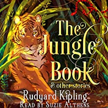 The Jungle Book and Other Stories Audiobook by Rudyard Kipling Narrated by Suzie Althens