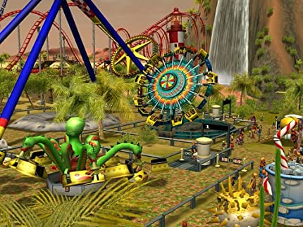 Amazon com: Rollercoaster Tycoon 3: Soaked! Expansion - PC: Video Games