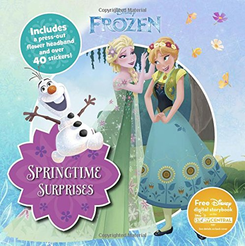 with Frozen Sticker Books design