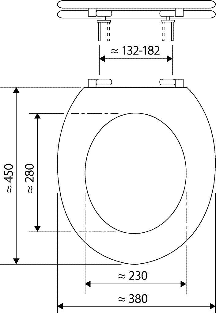 WC-Sitz High-Gloss Dekor Carbon Optik Optik Optik mit Soft-Schließ-Komfort und Fast Fix B00MIVI150 WC-Sitze 33be6c