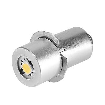 Bombilla LED de alta potencia para linterna LED, 1 W de repuesto para kit de