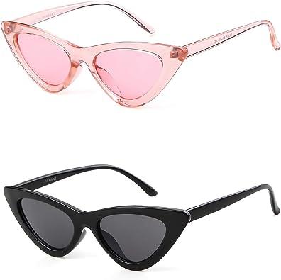 OVAL Cat Eye Sunglasses Vintage Retro KURT COBAIN Style  Red Grey Lenses