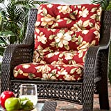 Greendale Home Fashions Indoor/Outdoor High Back