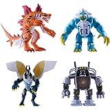 IMC Toys - 30503 - Invizimals Pack 4 Figure Articolate Tigershark/Icelion/Uberjackal/Vortex
