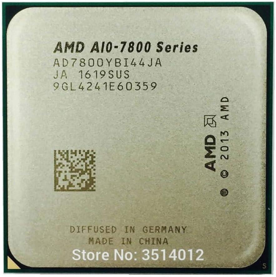 AMD A10-Series A10-7800 A10 7800 3.5GHz Quad-Core CPU Processor AD7800YBI44JA AD780BYBI44JA Socket FM2+