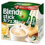 AGF ブレンディスティック カフェオレ 30本 【粉末】 【個包装 スティックタイプ】