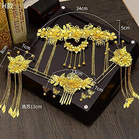 Disfraz chino para novia, tocado Xiu, accesorio chino, accesorio ...