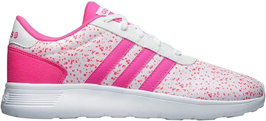 adidas neo blanche et rose