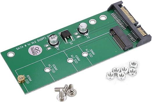 Pasamer Convertidor de Adaptador NGFF M.2 SSD a SATA - Adaptador de Disco Duro M2: Amazon.es: Hogar