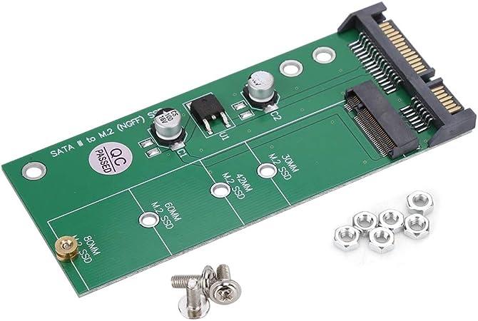 Pasamer Convertidor de Adaptador NGFF M.2 SSD a SATA - Adaptador ...