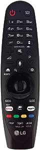 LG Magic - Mando a distancia para televisores inteligentes UHD 4K 43LJ554T 43UJ620V 43UJ6307 43UJ630V 43UJ632T 43UJ635 43UJ670V 43UJ701V 43UJ7507: Amazon.es: Electrónica