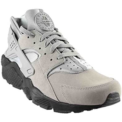 Nike Air Huarache Run SE Men's Shoes Matte Silver/Matte Silver 852628-003 (