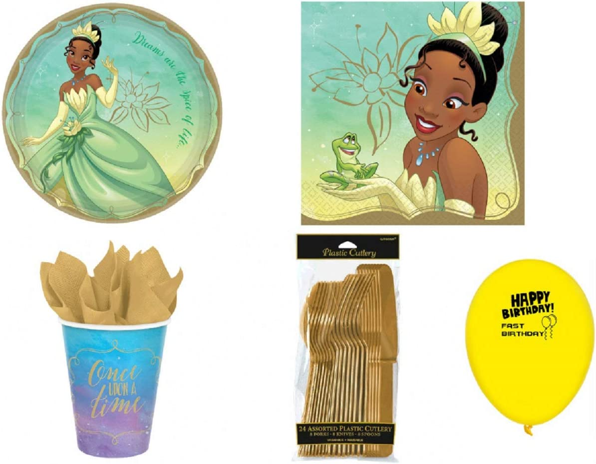 Disney Princess Tiana Party Pack for 8