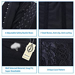 SHINYMOD Waist Trainer Postpartum Compression Belly Band Corset Workout Waist Cincher Girdle Stomach Tummy Wrap Trimmer Belt For Postpartum Recovery Weight Loss Women Men (L)